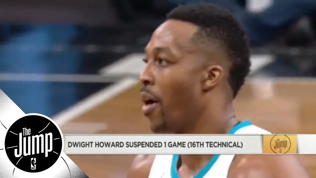 The Jump reacts to Dwight Howard getting suspended after monster performance | The Jump | ESPN