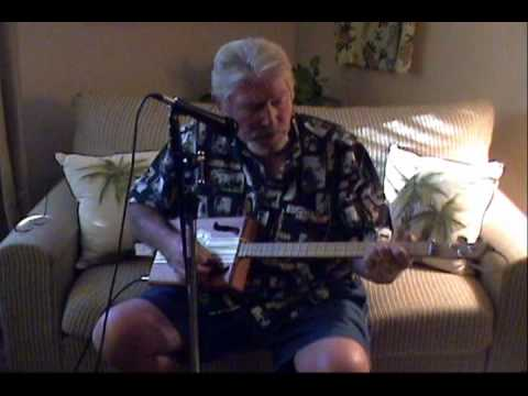 I Gotta Travel On cover by Ron on cigar box guitar