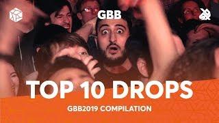 TOP 10 DROPS 😱 Grand Beatbox Battle Solo 2019