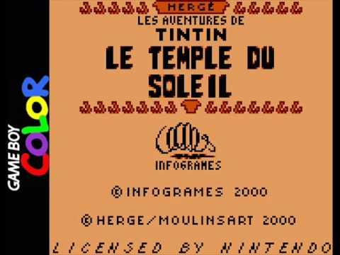 Tintin: Le Temple du Soleil (Game Boy) - Title Screen Music