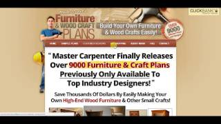 Furniture Craft Plans Review - Watch Inside Furniture Craft Plans Product