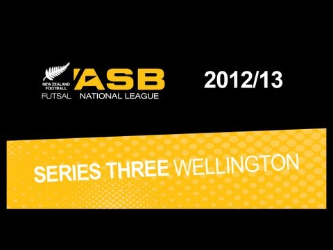 ASB FUTSAL NATIONAL LEAGUE HIGHLIGHTS 2012 13 SERIES 3