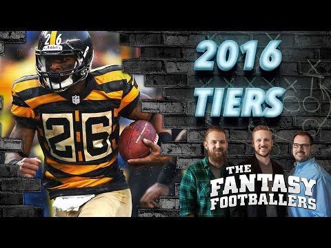 Tier Breakdowns, Pat Mayo from FNTSY Sports Network, News Ep. #213 - The Fantasy Footballers