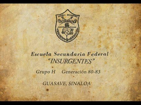 GRUPO H  GEN. 80-83  ESFI Guasave Sinaloa