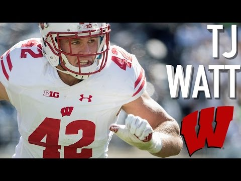 Tj Watt Welcome To Pittsburgh Official Wisconsin Highlights