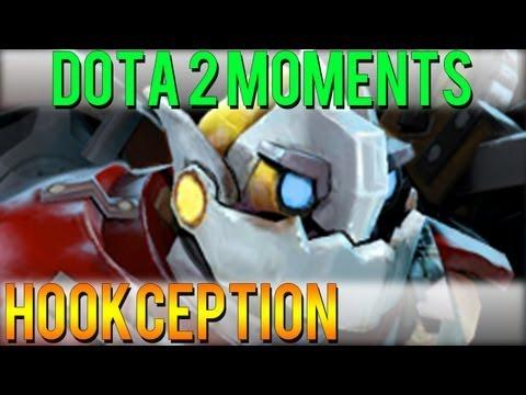 Dota 2 Moments - Hookception