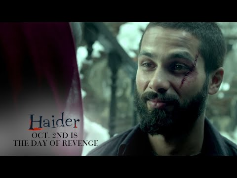 Haider | Oct. 2nd Is The Day of Revenge | Shahid Kapoor & Shraddha Kapoor