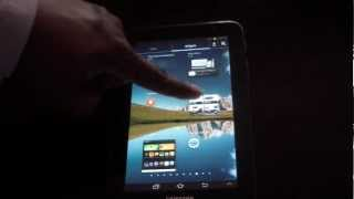 SAMSUNG TAB 2 7 INCH OFFICIAL 4.1.1 JELLY BEAN UPDATE REVIEW