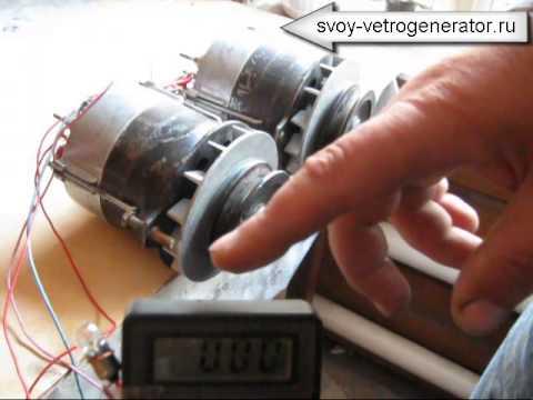 Ветрогенератор с тракторного генератора своими руками