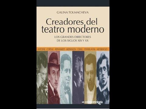 BookTrailer:  Creadores del teatro moderno, de Galina Talmacheva