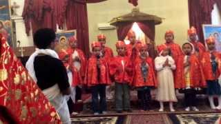 Baltimore Eyesus Ethiopian Orthodox Tewahedo Church Kids Singing - Medhanialem Adanen