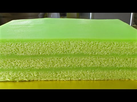 How to Make Pandan Kaya/Layer Cake *