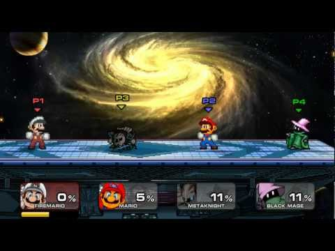 Super Smash Flash 2 v0.9 - todos los final smashes - Por MrXXavierXX