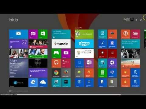 Cambiar la imagen de  fondo del menu metro en windows 8.1 ( 2015 )