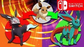 10 Möglichkeiten für Evolis nächste Entwicklung in Pokemon Switch!🤔