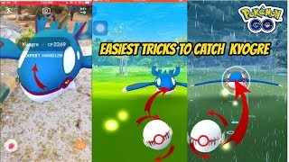 Easiest Tricks to Catch Kyogre in Pokemon Go iOS/Android