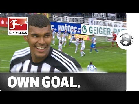 Incredible Back Heel Finish – But into the Wrong Goal