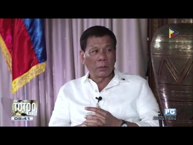 Duterte says peace talks with Reds just 'a waste of money'