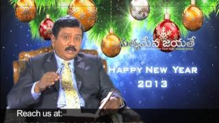 V6 CHANEL EPISODE on 3-1-2013, By Dr.A.S. Ranjeet Ophir garu.