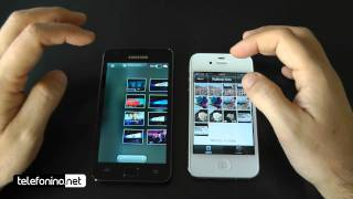 Apple iPhone 4s vs Samsung galaxy s2 da Telefonino.net