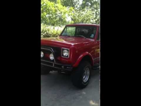 1979 International Harvester Scout II  V8 345 4x4 For Sale