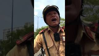 CSGT Cát Lái tphcm bắt người vô cớ không có theo luật pháp nào cướp xe của dân