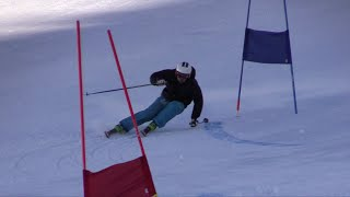 GS training at Valle Nevado Ski Resort 2014