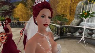 John & Karissa Second Life Wedding -  10.16.16