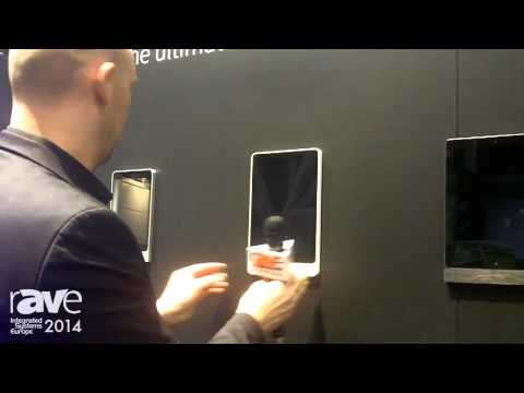 ISE 2014: Basalte Shows Its Wall Mounted Frames for iPad