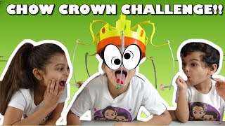 Chow Crown Challenge: HILARIOUS! Chow Crown Unboxing & Review !! 4 Kids Toy Review (#ChowCrown)