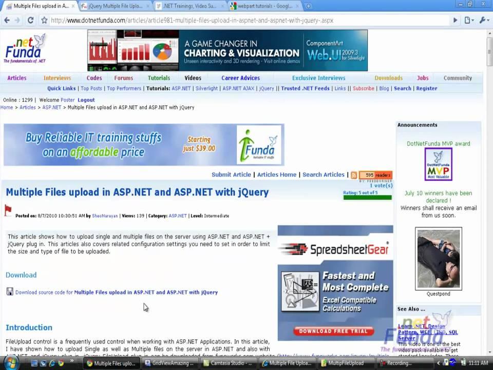 How to download a file in ASPNet - c-sharpcornercom