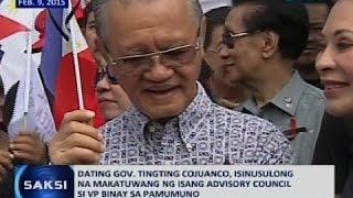 Saksi: VP Binay, itinangging kumikilos siya laban sa Pangulo