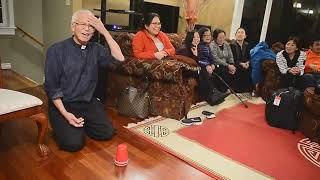 cha Phạm Quang Hồng ảo thuật đầu năm mới cho vui