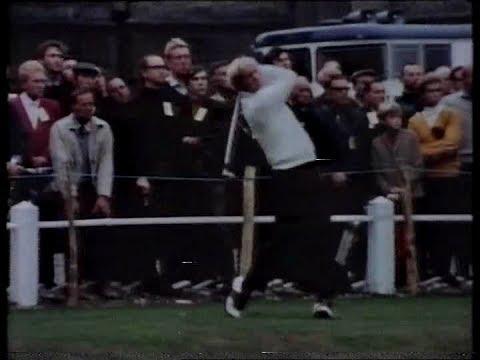 Jack Nicklaus v Lee Trevino  Vintage World Matchplay Final  1970