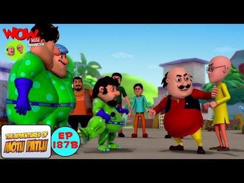 Alien John - Motu Patlu dalam Bahasa - Animasi 3D Kartun | WowKidz Indonesia thumbnail