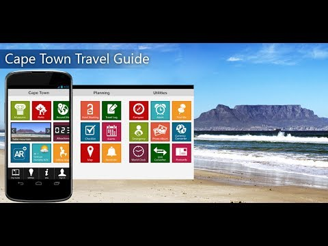Cape Town Travel Android App Promo - Pangea Guides