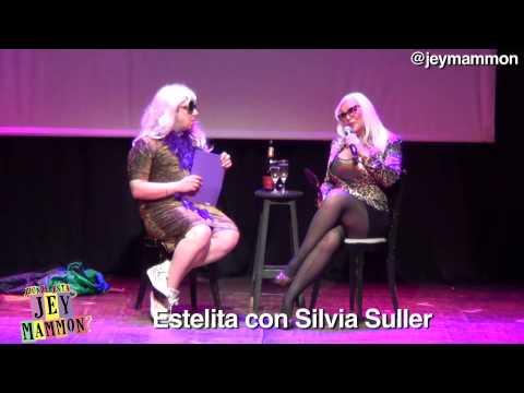 Estelita con Silvia Suller