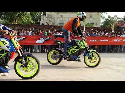 How to wheelie a KTM Duke 200?