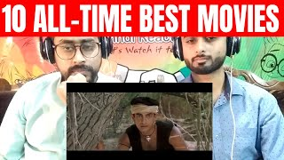 Top 10 Bollywood Movies of All Time (HINDI) | Best Hindi Films Ever | PINDI REACTION |