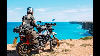 Around the world on a Scrambler Desert Sled with Henry Crew