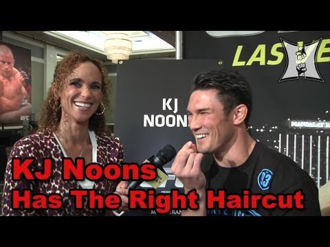UFC 160s KJ Noons Talks Cerrone Matchup UFC Debut  Fight Night HairDos