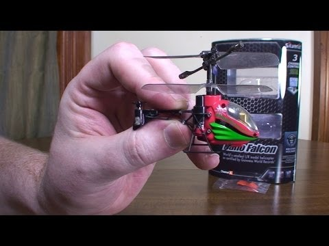 Silverlit Nano Falcon (World's Smallest RC Helicopter) - Review and Flight