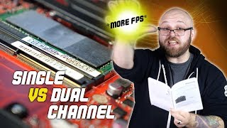 Do you NEED to upgrade laptop RAM? DUAL vs SINGLE CHANNEL
