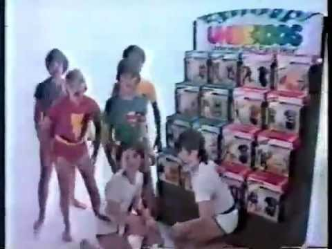 Underoos Underwear 1980 Commercial boys video