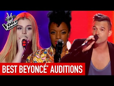BEST BEYONCÉ Blind Auditions of The Voice around the world