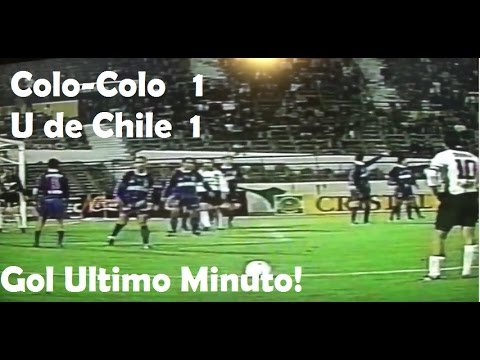 Colo-Colo 1 Madres 1 Gol Ultimo Minuto Pedro Reyes! 1997