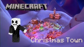 Mineimator Christmas Town Animation - What