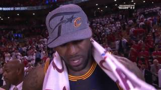 Cleveland Cavaliers Eastern Conference Finals Champs NBA Playoffs 2016
