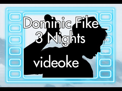 Dominic Fike - 3 Nights [KARAOKE] Videoke