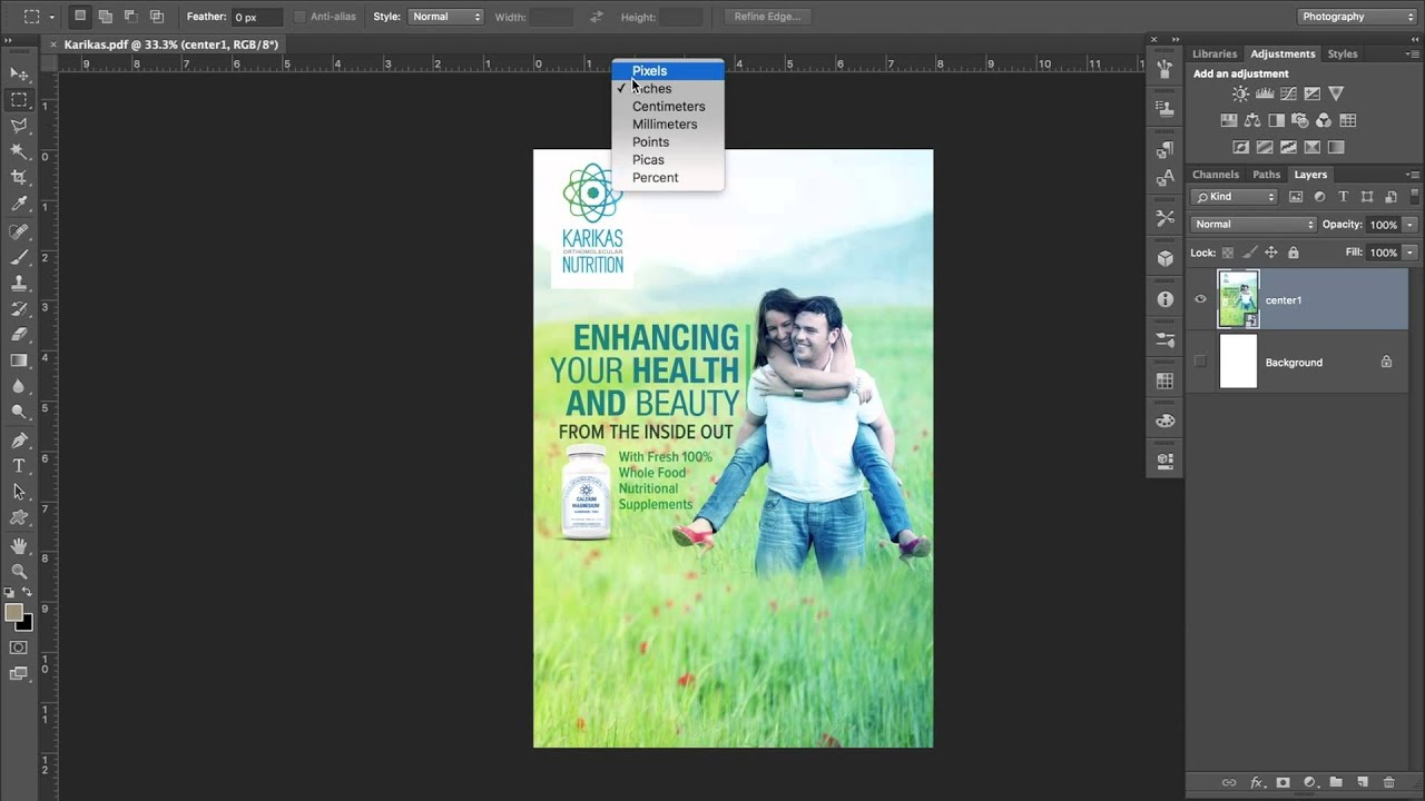 How to print poster size prints